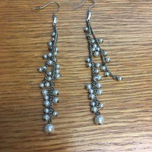Pearl Chandelier Drop Earrings Simply Vera Wang
